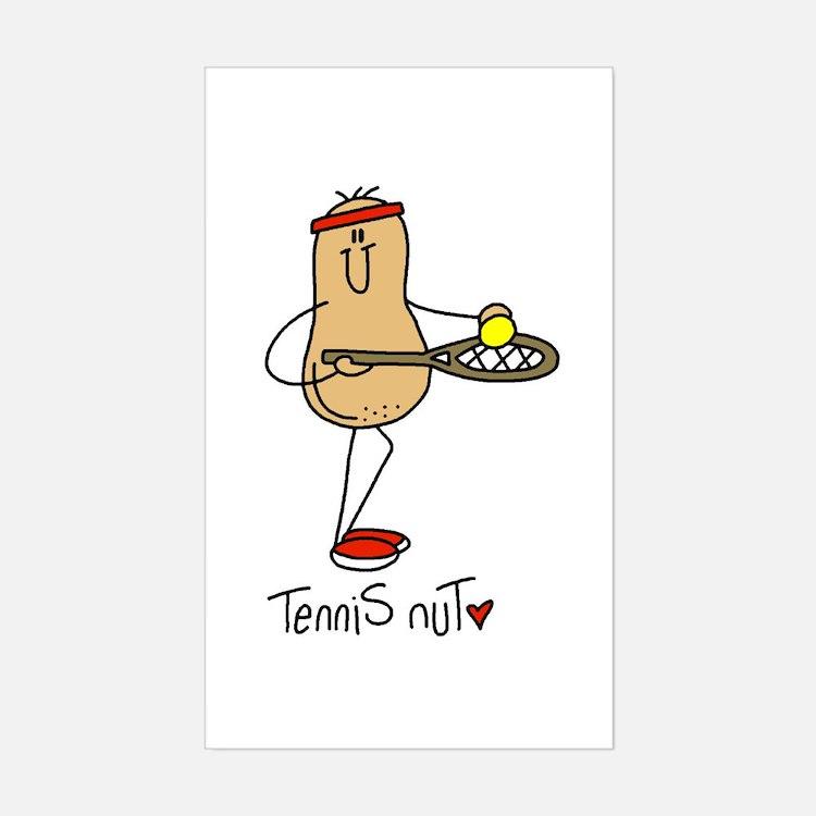 Tennis Nut Decal