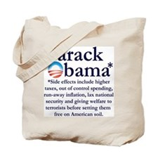 Side Effects Tote Bag