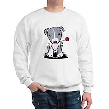 Blue Pit Bull Sweatshirt