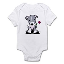 Blue Pit Bull Infant Bodysuit