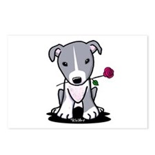 Blue Pit Bull Postcards (Package of 8)