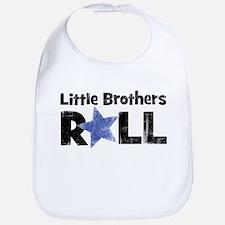 Little Brothers Roll Bib