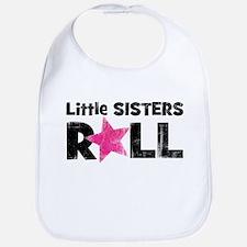 Little Sisters Roll Bib