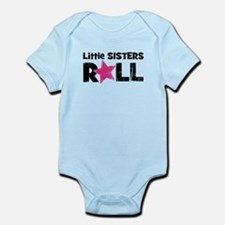 Little Sisters Roll Onesie