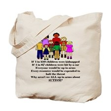 Funny Kids allergy Tote Bag