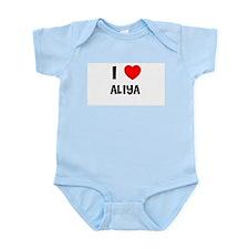 I LOVE ALIYA Infant Creeper