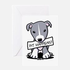 Pit Happens Greeting Card