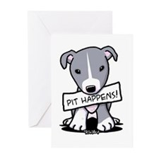 Pit Happens Greeting Cards (Pk of 20)