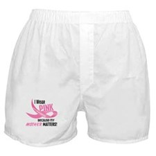 I Wear Pink For My Mother 33.2 Boxer Shorts