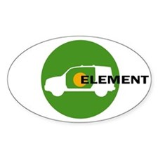 Element Lovers: Green Element Decal