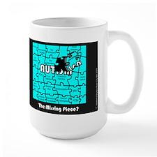 Large The Missing Piece? Mug