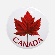 Canada Souvenir Ornament Maple Leaf Gift Keepsake