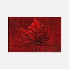 Canadian Maple Leaf Fridge Magnet Souvenir