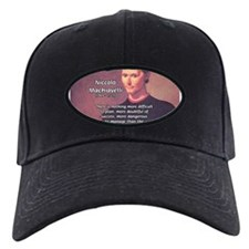 Political Theory: Machiavelli Baseball Hat
