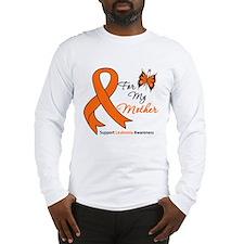 Leukemia Ribbon Mother Long Sleeve T-Shirt