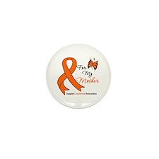 Leukemia Ribbon Mother Mini Button (10 pack)