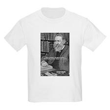 Cosmology: Mach's Principle Kids T-Shirt