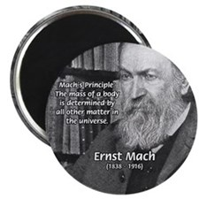 "Cosmology: Mach's Principle 2.25"" Magnet (10 pack)"
