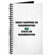 What Happens In WASHINGTON Stays There Journal