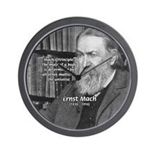 Cosmology: Mach's Principle Wall Clock