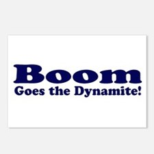 Boom Goes the Dynamite Postcards (Package of 8)
