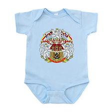 Prague Coat of Arms Infant Bodysuit