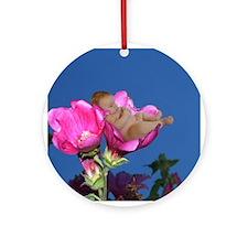 Lisianthus Flower Baby Ornament (Round)