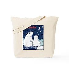 Canada Polar Bear Tote Bag