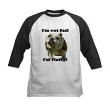 I'm Not Fat Bulldog Tee