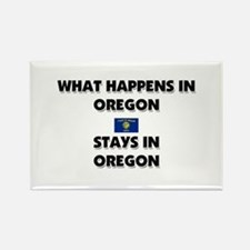 What Happens In OREGON Stays There Rectangle Magne