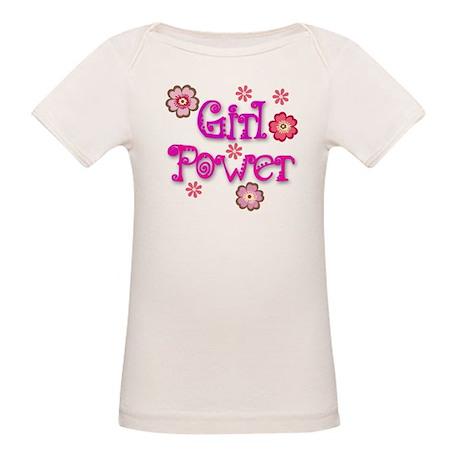 Girl Power Organic Baby T-Shirt