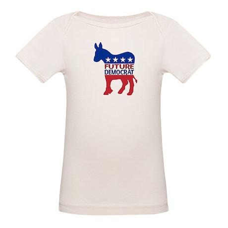 Future Democrat Organic Baby T-Shirt