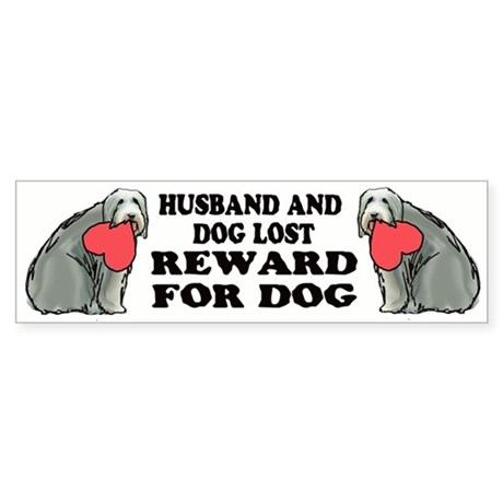 Lost Dog bumper sticker!