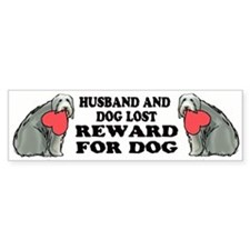Lost Dog bumper sticker!