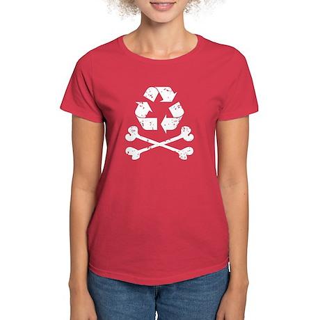Recycling Pirate Women's Dark T-Shirt