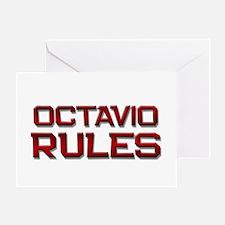 octavio rules Greeting Card