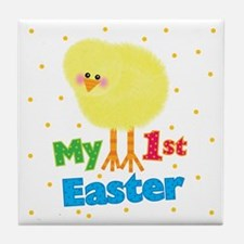 My 1st Easter Chick Tile Coaster