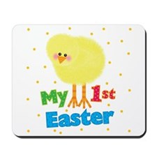 My 1st Easter Chick Mousepad