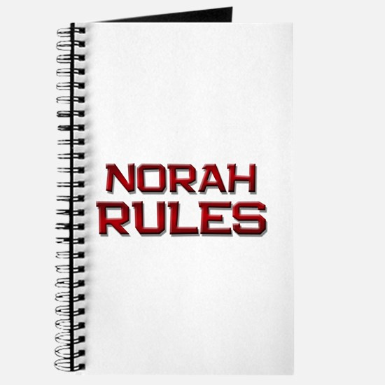 norah rules Journal