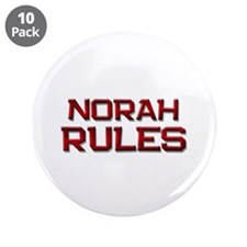 "norah rules 3.5"" Button (10 pack)"
