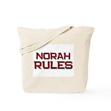 norah rules Tote Bag