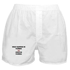 What Happens In FLORIDA Stays There Boxer Shorts