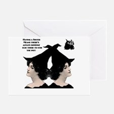 Rossini Strong Women witch stir pot small w Greeti