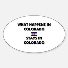 What Happens In COLORADO Stays There Decal