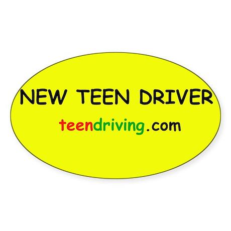 New Teen Driver Sticker