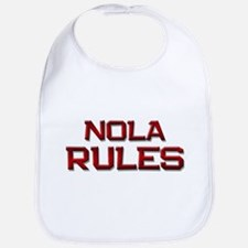 nola rules Bib