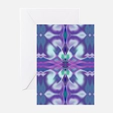'Virtual Violets' Greeting Cards (10 Pk)