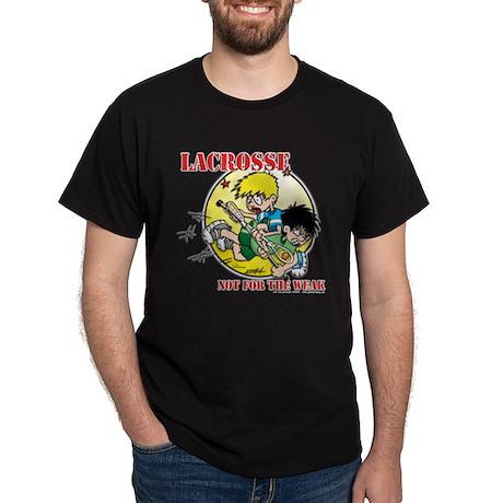 Lacrosse Black T-Shirt 1 sided