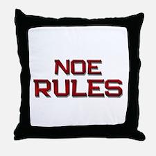 noe rules Throw Pillow