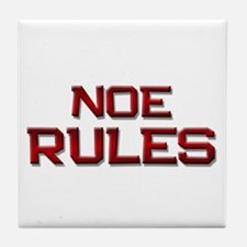 noe rules Tile Coaster
